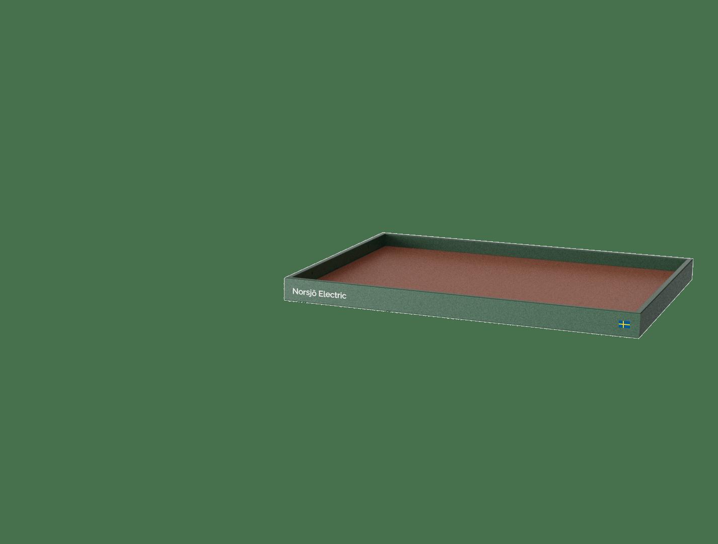 grön flak low L
